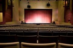 艺术观众席中心执行 免版税库存图片
