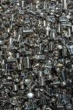 艺术设施由铝器物烹调制成 免版税库存图片