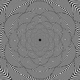 艺术设计几何操作模式菱形无缝的向量 免版税库存照片