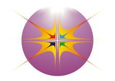 艺术设计徽标 免版税库存图片