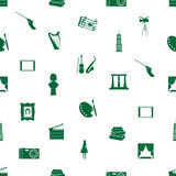 艺术象样式无缝的eps10 免版税库存图片