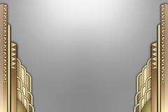 艺术边界大厦deco 免版税库存图片
