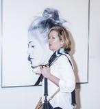 艺术迈阿密纽约VIP预览 免版税库存图片