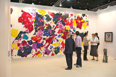 艺术迪拜 免版税库存照片