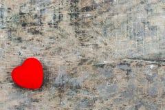艺术重点红色华伦泰向量 免版税图库摄影
