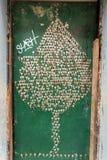 艺术门户开放主义在圣玛丽亚街道  瞄准对`开放`城市对艺术性和文化活动的项目 芬奇 免版税图库摄影