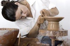 艺术陶瓷工s 免版税图库摄影
