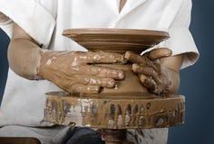 艺术陶瓷工s 图库摄影