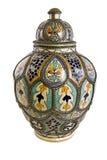 艺术陶瓷摩洛哥人 库存图片