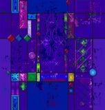艺术颜色彩色玻璃 免版税图库摄影