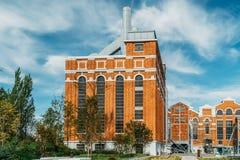 艺术馆、建筑学和Technology Museu de Arte, Arquitetura e Tecnologia或MAAT是科学和文化项目 库存照片