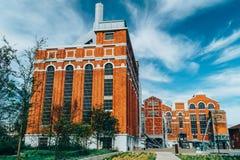艺术馆、建筑学和Technology Museu de Arte, Arquitetura e Tecnologia或MAAT是科学和文化项目 免版税库存照片