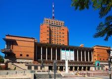 艺术馆历史的蒙得维的亚,乌拉圭 免版税图库摄影