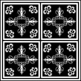 艺术黑色设计白色 皇族释放例证