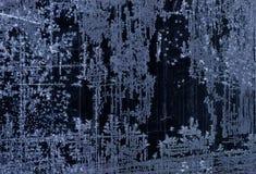 艺术结冰的纹理背景 图库摄影