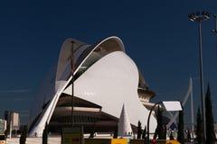 艺术&科学,巴伦西亚城市 免版税图库摄影