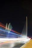 艺术&科学巴伦西亚集市和桥梁城市 图库摄影