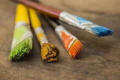 艺术画笔 免版税图库摄影