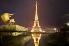 艺术巴黎街道 免版税库存图片
