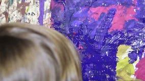 艺术绘画 免版税库存照片