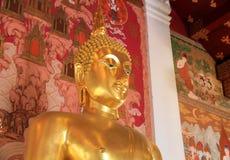 艺术0f菩萨雕象在泰国 免版税库存图片