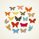 艺术butterfly3 库存图片