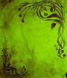 艺术grunge nouveau样式wallp 库存图片