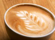 艺术latte 免版税图库摄影