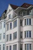 艺术nouveau样式房子在基尔,德国 免版税库存图片
