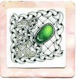 艺术Zentangle 库存图片