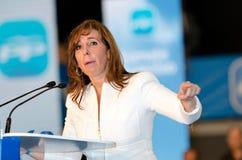 艾丽西亚camacho hospitalet l西班牙 免版税图库摄影