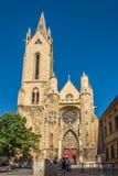 艾克斯普罗旺斯Saint吉恩de Malte教会  免版税库存图片