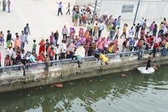 艾哈迈达巴德-繁荣神;Ganesh Chaturthi节日2014年 库存图片