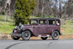 1929年艾塞克斯超级六个轿车 免版税库存照片
