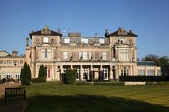 艾塞克斯,英国- 2014年4月16日:霍尔乡间别墅、历史豪宅和下来修道士财产追溯到14世纪 库存图片