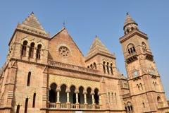 艾娜玛哈尔宫殿在普杰,古杰雷特,印度 库存图片