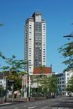 艾恩德霍芬中心高摄政的大厦Witte贵妇人 库存照片