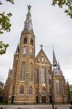 艾恩德霍芬,荷兰- 15 09 2015年:耶稣圣心教会 图库摄影
