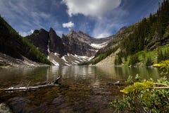 艾格尼丝湖 免版税图库摄影