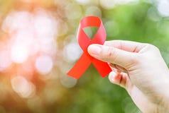 艾滋病意识活动 免版税库存照片