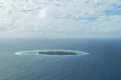 艾略特Island夫人鸟瞰图 免版税库存照片