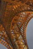 艾菲尔铁塔光表现展示 免版税图库摄影