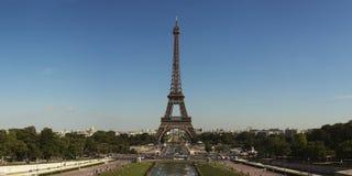 艾菲尔铁塔全景 库存图片