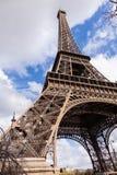 艾菲尔铁塔在巴黎法国,著名旅游业地标 库存图片