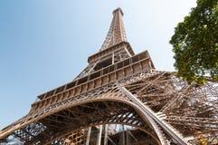 艾菲尔铁塔在巴黎法国 免版税图库摄影