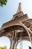 艾菲尔铁塔在巴黎法国 库存照片