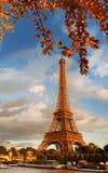 艾菲尔铁塔在巴黎,法国 库存照片