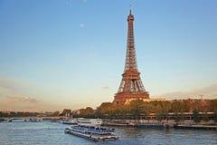 艾菲尔铁塔在巴黎,法国 免版税库存照片