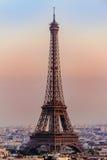 艾菲尔铁塔在巴黎,法国 免版税图库摄影