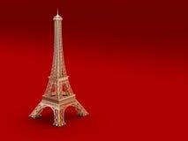 艾菲尔铁塔在巴黎 向量例证
